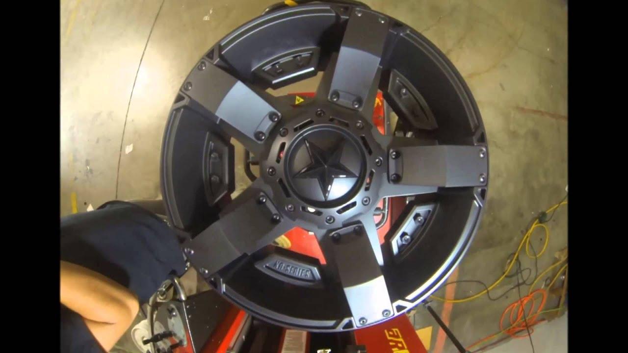 KMC Wheels XD Series XD811 Rockstar 2 Black - YouTube