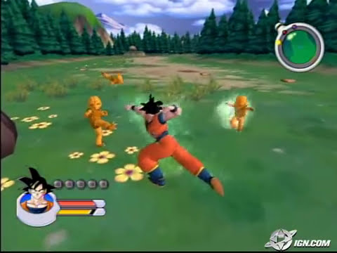 Dragon Ball Z: Sagas GameCube Gameplay