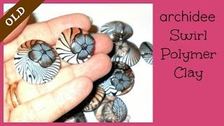 Tutorial | Polymer Clay | DIY Swirl Beads | Etno Swirl | LOOK EDITED VIDEO | LINK IN THE INFO BOX