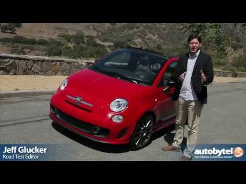 2013 FIAT 500 Abarth Cabrio Test Drive & Sport Compact Car Video Review