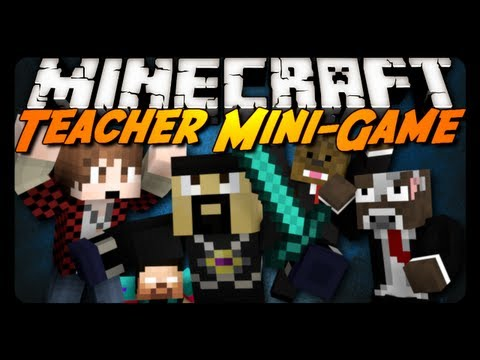 Minecraft Mini-Game: TEACHER MASSACRE! w/ AntVenom & Friends!