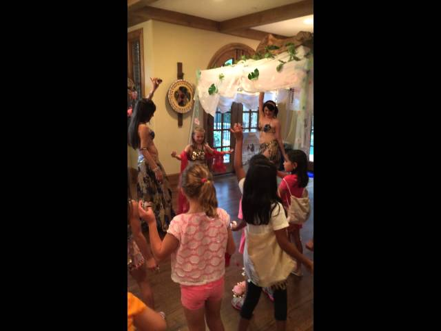 The Harem Jewels teaching The Art of Belly Dancing to Young Fans