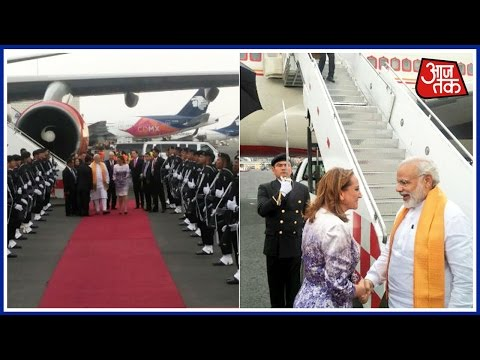 PM Modi Leaves For Mexico After Wrapping Up US Visit