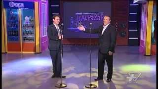 Agim Hushi dhe Agron Llakaj   O Sole Mio   Show Humor   Vizion Plus