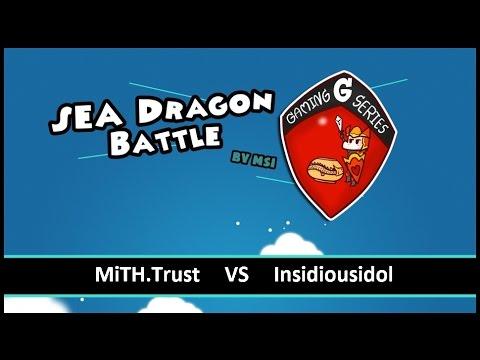 [ Dota2 ] Mith.trust Vs Insidious Idol - Sea Dragon Battle By Msi - Thai Caster video