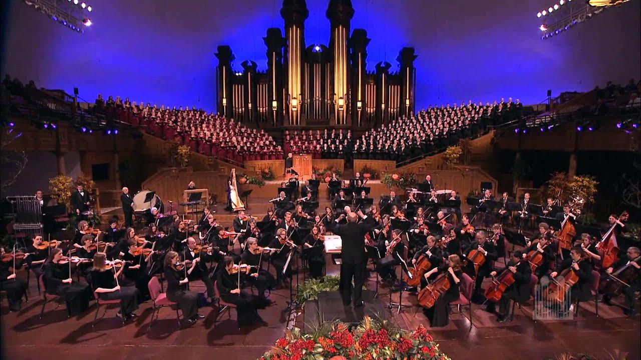christmas music mormon tabernacle choir