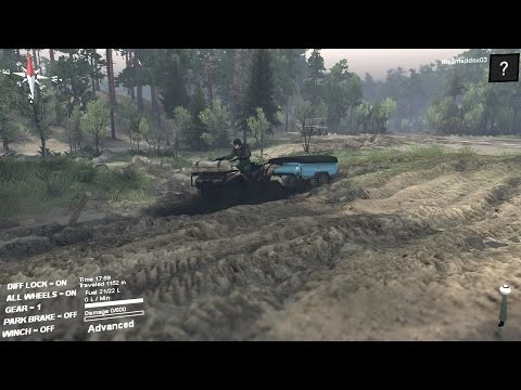 pc/spintires mod review atv