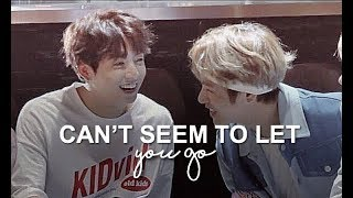 ❝can't seem to let you go❞ taekook!au