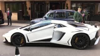 Lamborghini Aventador SV Startup - London Supercars