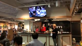 KaTom cooking demonstration