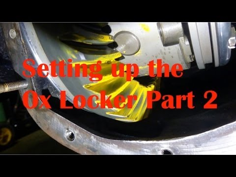Differential Set up and Shims Part 2 Installing the Ox Locker