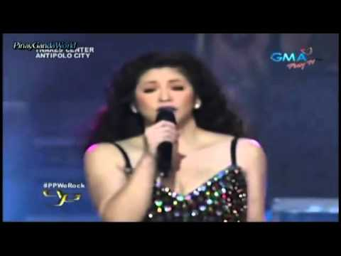 Regine Velasquez Live Before She Rest Her Voice [hd] video