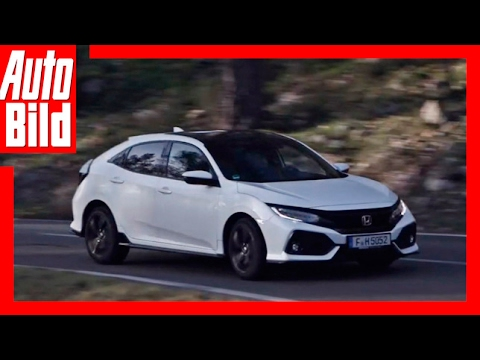 Fahrbericht Honda Civic (2017) - Honda mit Turboherz - Fahrbericht/Review/Test