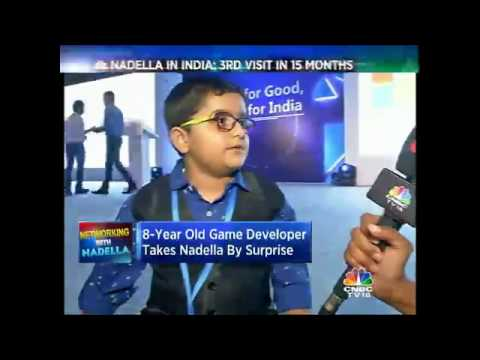 When An 8-Yr Old Charmed Microsoft CEO, Nadella