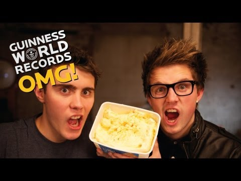 Easter Special - Speed Eating Ice Cream // The Record Slam (Ep22)