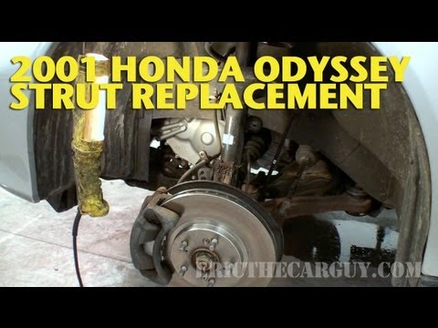 Front Strut Replacement. 2001 Honda Odyssey -EricTheCarGuy