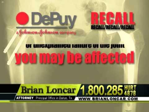 DePuy Hip Replacement Lawsuit - Brian Loncar