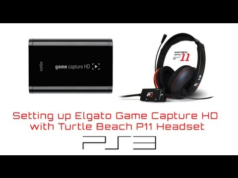 Turtle Beach P11 Setup with Game Capture HD powered by @