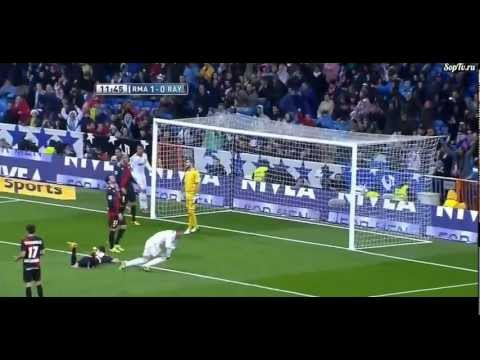 Sergio Ramos Goal and Red Card. All in 30 seconds vs Rayo Vallecano.