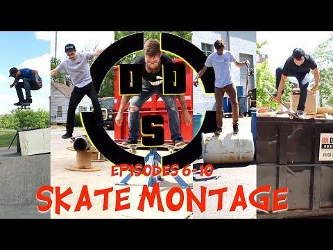 Dumpster Diving Skateboarding Ep. 6-10 Skate Montage