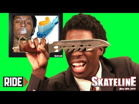 &quot;Hands in Sphincter&quot; - SKATELINE BLOOPERS