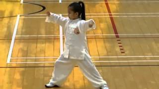CHEN SHI TaiChi Quan 56 performed by a 4 years old girl ......a