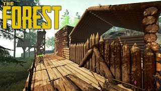 THE STORE HOUSE | The Forest | Let's Play Gameplay | S14E17