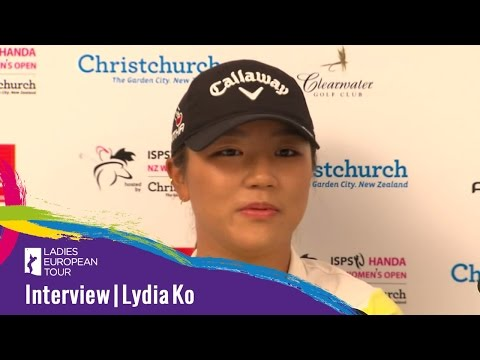 Lydia Ko - Highlights & interview from 1st round at ISPS Handa New Zealand Women's Open