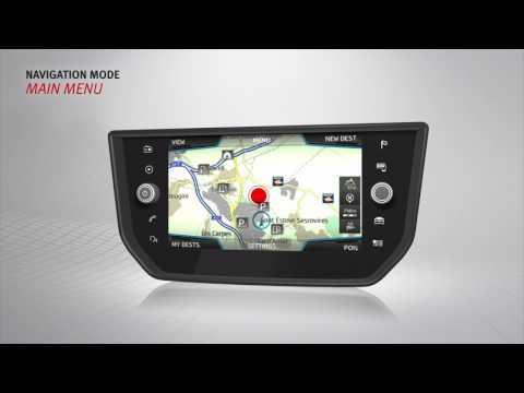 Navigation Tutorial: Infotainment System  - SEAT NEW Ibiza 2017