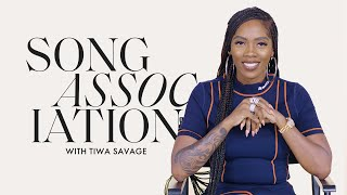 "Tiwa Savage Sings Prince, Mary J. Blige, and ""Ma Lo"" in a Game of Song Association 