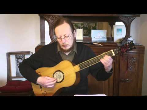 Gaspar Sanz - Torneo - Baroque guitar
