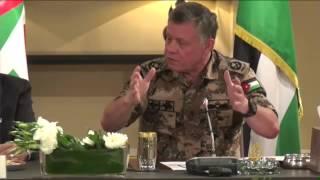 الملك عبد الله الثاني: حرب أهلية داخل الإسلام