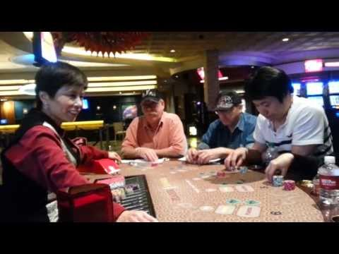 Las Vegas mini baccarat action at Rio Suites Casino