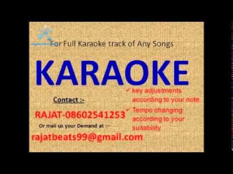 Ab ke sajan sawan me   Chupke Chupke karaoke track