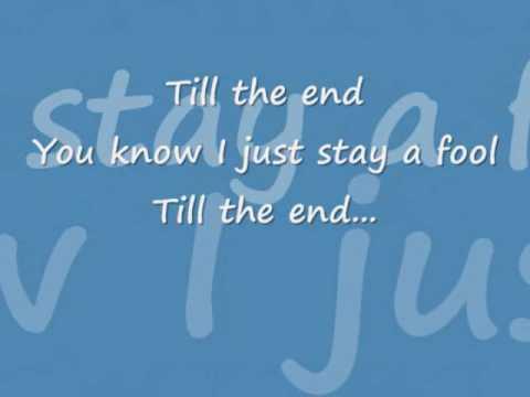 Gary Valenciano - Fool Till The End