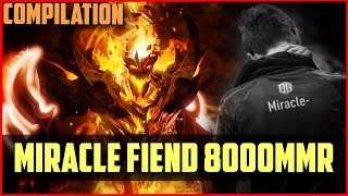 Miracle- 8200MMR! EPIC Shadow Fiend Compilation DOTA 2 gameplay