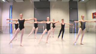 Dans klassiek ballet Valuas college Venlo