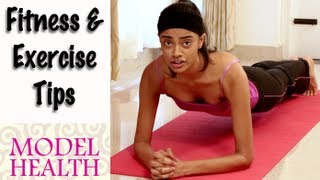 Fitness and Exercise Tips from a Model