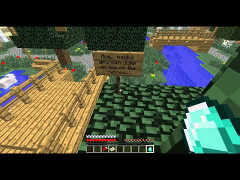 Myth hraje Minecraft - Part 1 - Tetrix's 3rd Obstacle Course - 1. a 2. challenge.