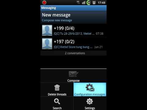 Galaxy S Korean SHW-M110S Anycall ROM