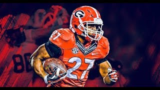 Nick Chubb ULTIMATE Highlights 2017!!!