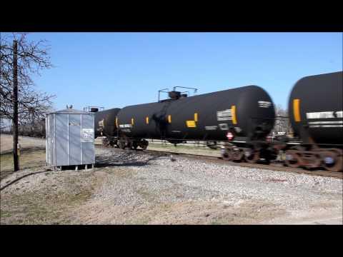 Union Pacific Ethanol Train with SD70AH Denton, TX