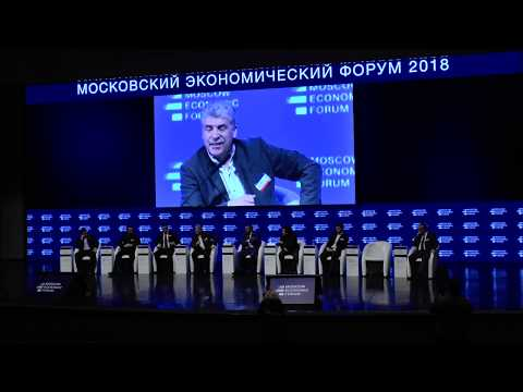 МЭФ 2018. Жуковский, Потапенко, Грудинин, Пронько.