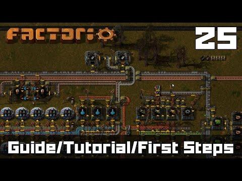 Factorio Guide - Factorio First Steps - Factorio Let's Play ( Tutorial Style ) Part 25