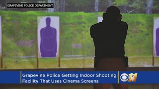Grapevine PD Getting One-Of-A-Kind Indoor Shooting Range