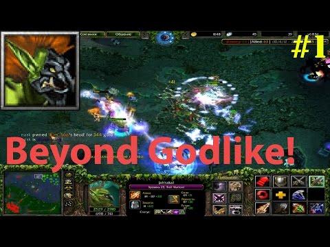 DoTa 6.83d - Jah'rakal, Troll Warlord ★ Beyond GODLIKE! #1