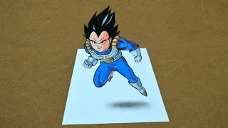 Desenhando  Vegeta - Dragon Ball  (Speed Drawing)