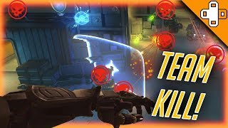 INSANE TEAM KILL! Overwatch Funny & Epic Moments 379