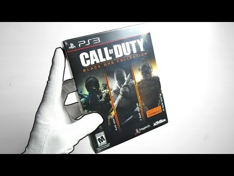 Call of Duty Black Ops COLLECTION Unboxing! + Extra (Black Ops 1, 2, 3)