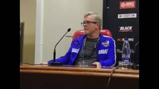 Пресс-конференция с Денисом Лебедевым